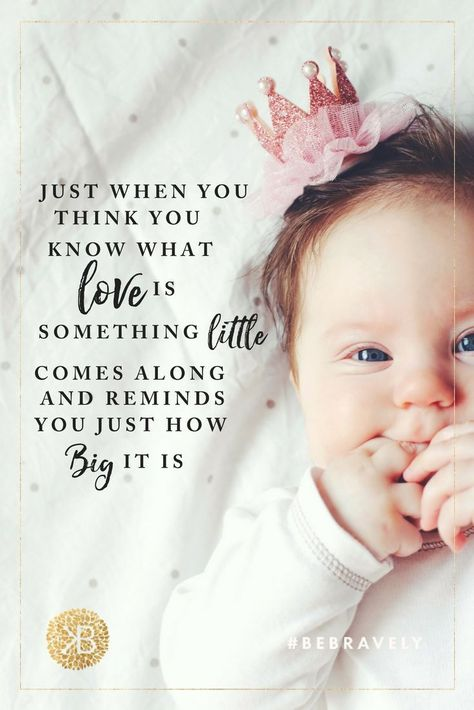 """""""Just when you think you know what love is, something little comes along and reminds you just how big it is"""".   #inspirationalquotes #encouraging #quotes #motherhood #parenting  kids, children, maternity, pregnancy, breastfeeding, nursing, pumping, newborn, birth, labor and delivery, maternity lingerie, nursing bra, women's fashion, maternity fashion, maternity clothes, postpartum, hospital bag must-have, motherhood, parenting, quotes, inspiration, encouraging"""