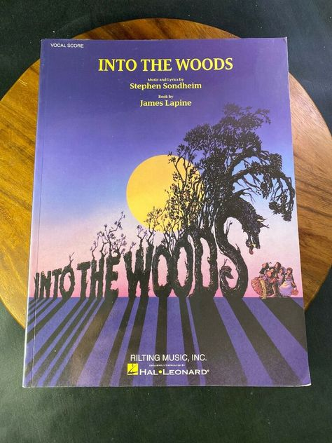 Into the Woods Vocal Score Book NEW 000313446