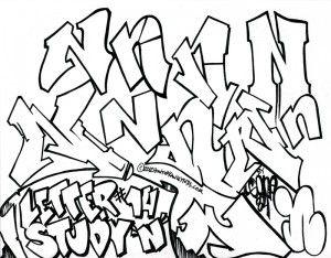 Graffiti Letter N  CalligraphyGraffiti Alphabet  Pinterest