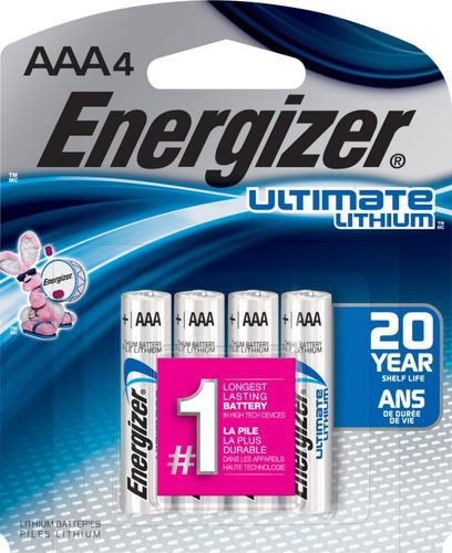 Energizer Ultimate Lithium Aaa Batteries 4 Pack L92bp 4 Best Buy In 2021 Energizer Batteries Energizer Battery