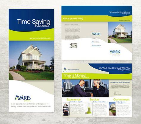 Real Estate Brochure Cover Psd  Design    Brochures