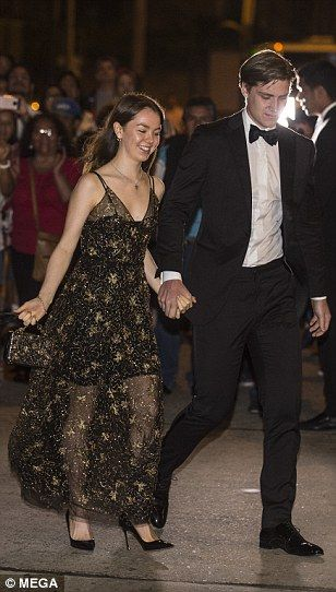 8bbb792119e1 Kate Moss at post-wedding party of Prince Christian of Hanover ...