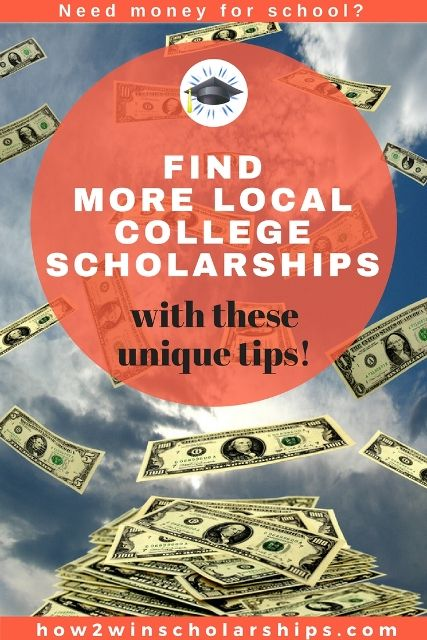 How to Find More Local College Scholarships   College