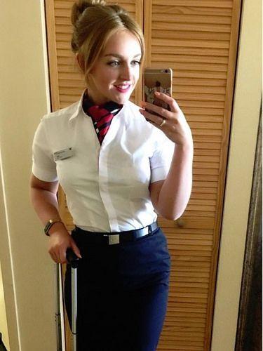 BA Uniform | BA Cabin Crew in 2019 | Flight attendant hot