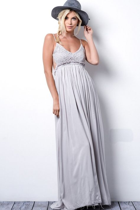 4891e01c4ee something special crochet maxi dress in silver