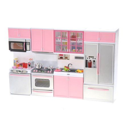 Operated Modern Kitchen Playset Ps11p Ps11p Pretend Play Toy For Boy Walmart Com In 2021 Pretend Play Kitchen Toy Kitchen Set Toy Kitchen