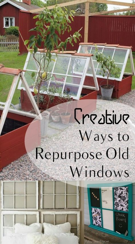 Creative Ways To Repurpose Old Windows | How To Build It