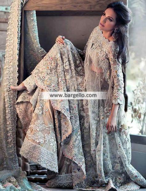 Items similar to Pakistani Bridal Dress - Elan Inspired Bridal Wedding/ Reception Dress, Bollywood Dress / Indian Dress Pakistani Fashion on Etsy