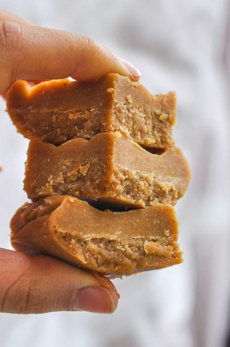 Make Easy Peanut Butter Fudge in the Freezer