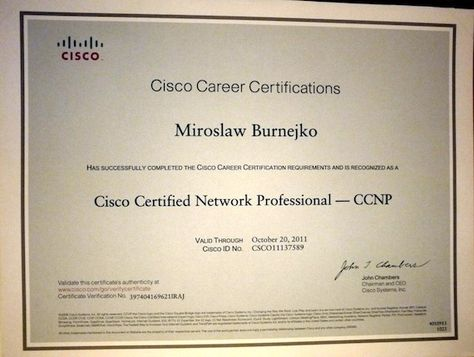 Cisco - CCNP Routing and Switching    wwwpresidential - cisco certified network engineer sample resume