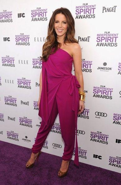 Kate Beckinsale Photos Photos - 2012 Film Independent Spirit Awards - Arrivals - Zimbio