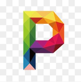 Colorful Letters P Letter Colorful P Png Transparent Clipart Image And Psd File For Free Download Geometric Drawing Art Logo Letter P Tattoo