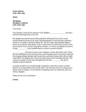 Letter Of Recommendation To The Court Samples Yahoo Image Search