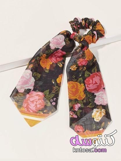 توك شعر للعرايس طريقة عمل توكة من الستان توك شعر 2020 Floral Tie Fashion Patterned Shorts