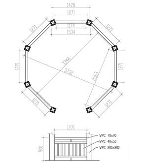 12 Ft Octagon Gazebo Plans Gazebo Plans Wooden Gazebo Plans Pergola Designs