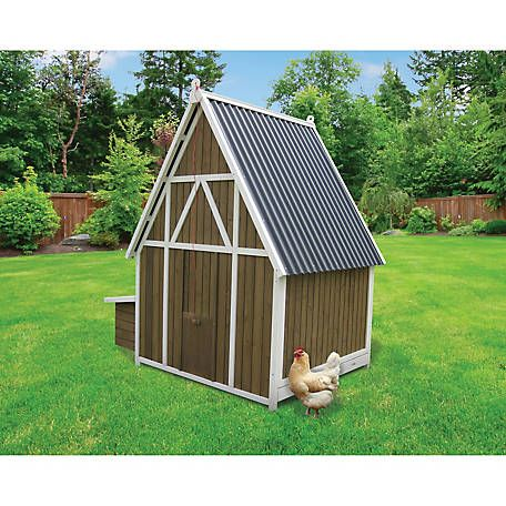Defender Chicken Coop With Attached Run For 12 Chickens 10 Ft X 10 Ft Run With Strong Steel Mes Building A Chicken Coop Chickens Backyard Chicken Coop Run