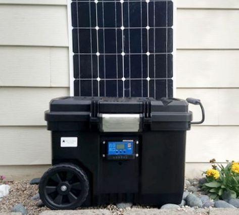 Portable Solar Generator In 2020 Portable Solar Generator Solar Generator Solar Generators
