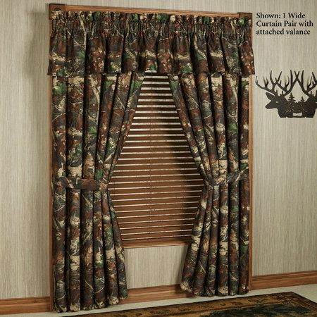 Camo Curtain Valance