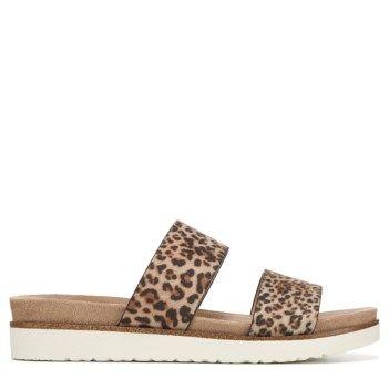 XOXO Dylan Platform Sandal Leopard