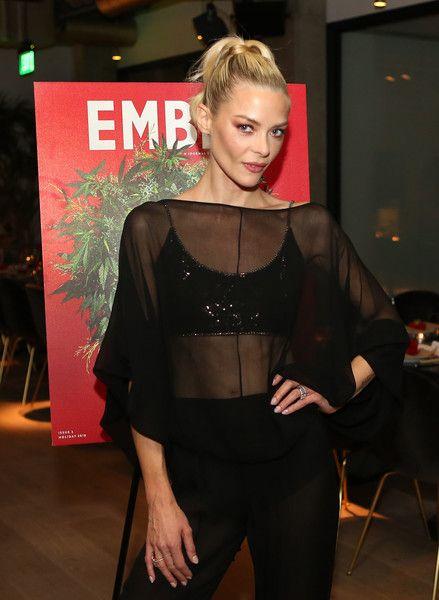 Jaime King attends as MedMen Launches EMBER Magazine Volume 3.
