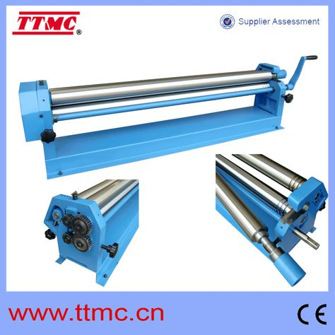 W01 1 5x1300 Slip Rolling Machine 3 Roller Bending View Manual Roller Bending Machine Ttmc Product Details From Tengzhou Tri Union Machinery Co Ltd On Ali Metal Working Sheet Metal Fabrication Roller