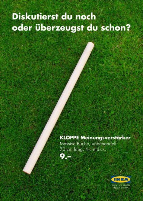 """Guerilla-Marketing Blog - Guerilla-Marketing nach Schwedenart: Mit """"Kloppe"""" zum Erfolg"""