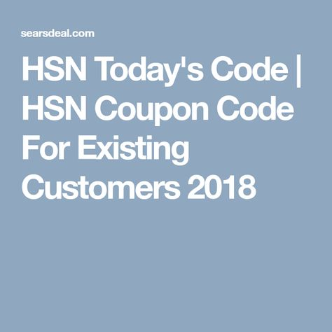 12373c65051d  20 w  Hsn Coupons Code For Existing Customers (Jan. 2019)