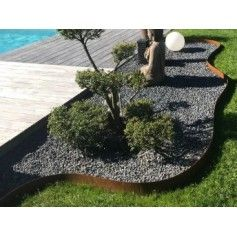 Bordure Jardin Qualite Professionnel Acier Galvanise Longueur 2 50 M Bordure Jardin Bordure Acier Jardins