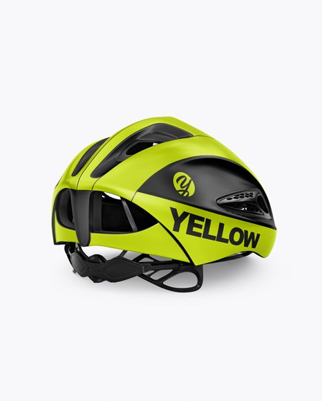 Download Cycling Helmet Mockup Back Half Side View In Apparel Mockups On Yellow Images Object Mockups Mockup Free Psd Psd Mockup Template Mockup Psd