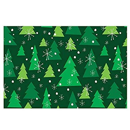 Note Card Cafe Paper Placemats 48 Count 11 X 17 Christmas Tree Pattern Make Sure To Ch Fall Table Decor Unique Thanksgiving Thanksgiving Dinner Decor