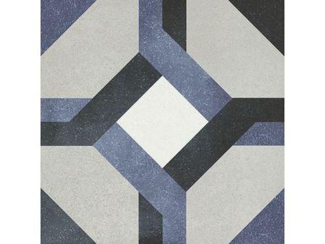 Laure 15x15 Carrelage De Sol Aspect Carreaux De Ciment Gres
