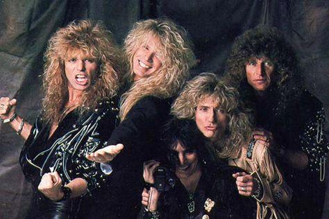 Aspiring to have hair as large as the members of Whitesnake.