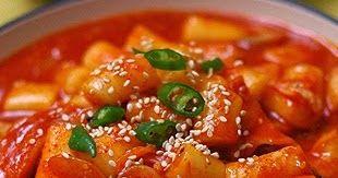 Resep Makanan Resep Masakan Korea Tteokbokki Resep Masakan Korea Tteokbokki Adalah Masakan Resep Kor Resep Masakan Korea Masakan Korea Resep Masakan