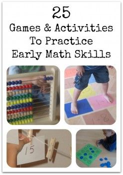 25 Games & Activities To Practice Early Math Skills