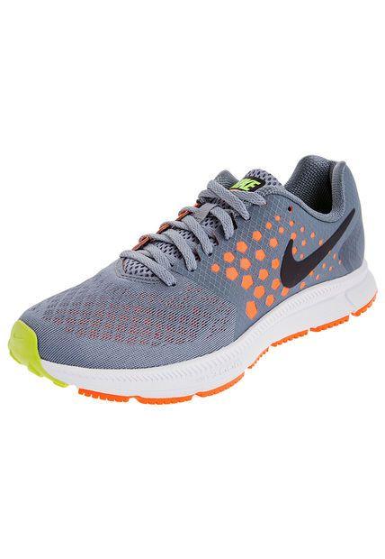 Artefacto bandeja Touhou  Running Gris/Naranja neón Nike Zoom Span - Compra online en Dafiti Colombia  ✓ Envío y cambio gratis a todo el país. | Nike neón, Nike zoom, Nike