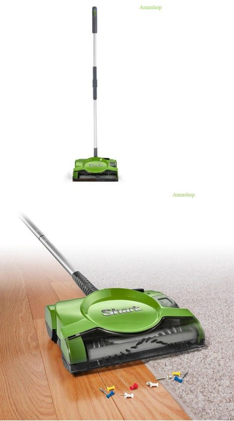 Carpet And Floor Sweepers 79657 Annashop Shark V2930 10 In Rechargeable Floor And Carpet Sweeper Buy It Now Only Carpet Sweeper Flooring Floor Sweepers