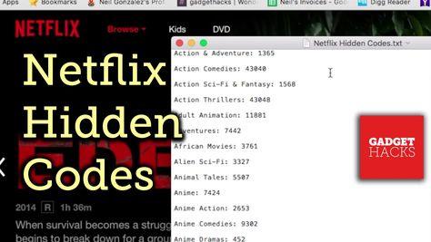 Netflix Hack: Unlock Hidden Categories with Secret Codes [How-To]