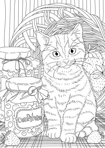 Sweet Tooth Animal Coloring Pages Adult Coloring Book Pages