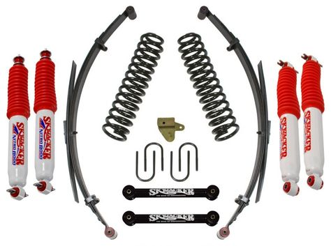Skyjacker 3 Standard Lift Kit With Rear Leaf Springs Nitro