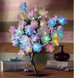 Led Fiber Optic Tree Whimsical Decor Decor Essentials Electric Fireplace Decor