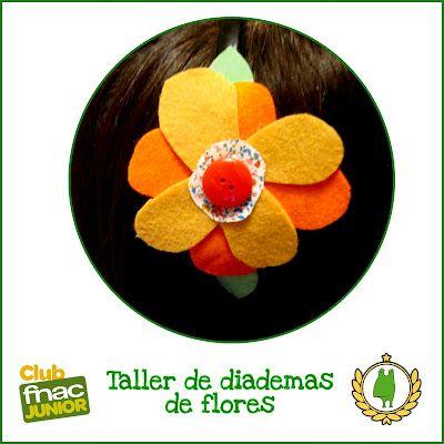 Diademas de flores!