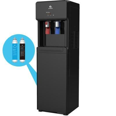 Mind Reader Mounty 20 K Cup Fridge Wall Mount K Cup Dispenser Wmnt Blk The Home Depot Self Cleaning Toilet Water Coolers Toilet Cleaning
