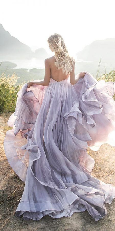 15 Colored Wedding Dresses To Make You A Stylish Bride Colored