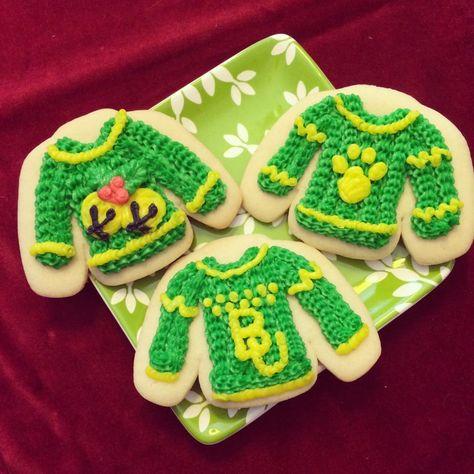 Christmas cookies -- the #Baylor way. #SicEm