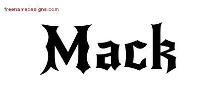 Gothic Name Tattoo Designs Mack Download Free Name Tattoo Designs Name Design Name Tattoo