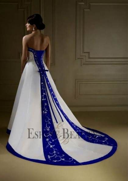 Royal Blue And White Wedding Dresses 2018 B2b Fashion Blue Wedding Dress Royal Royal Blue Wedding Decorations Cobalt Blue Weddings