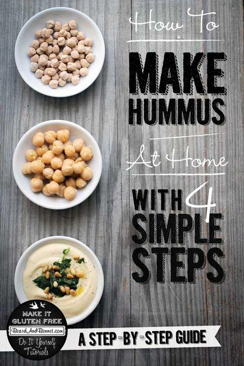 How To Make Hummus {Beard and Bonnet} #glutenfree #vegan #tutorial