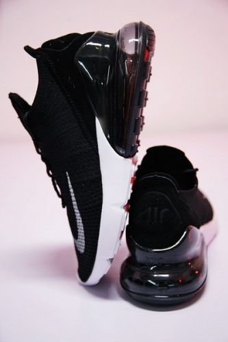 Best Quality 2018 NIKE AIR MAX 270 FLYKNIT BLACK WHITE