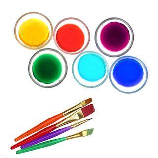 Homemade Liquid Watercolors Homemade Watercolors How To Make