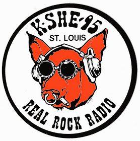 Stl Christmas Radio Station 2021 Radio Sticker Of The Day Kshe In 2021 Rock Radio Radio Advertising Old Rock